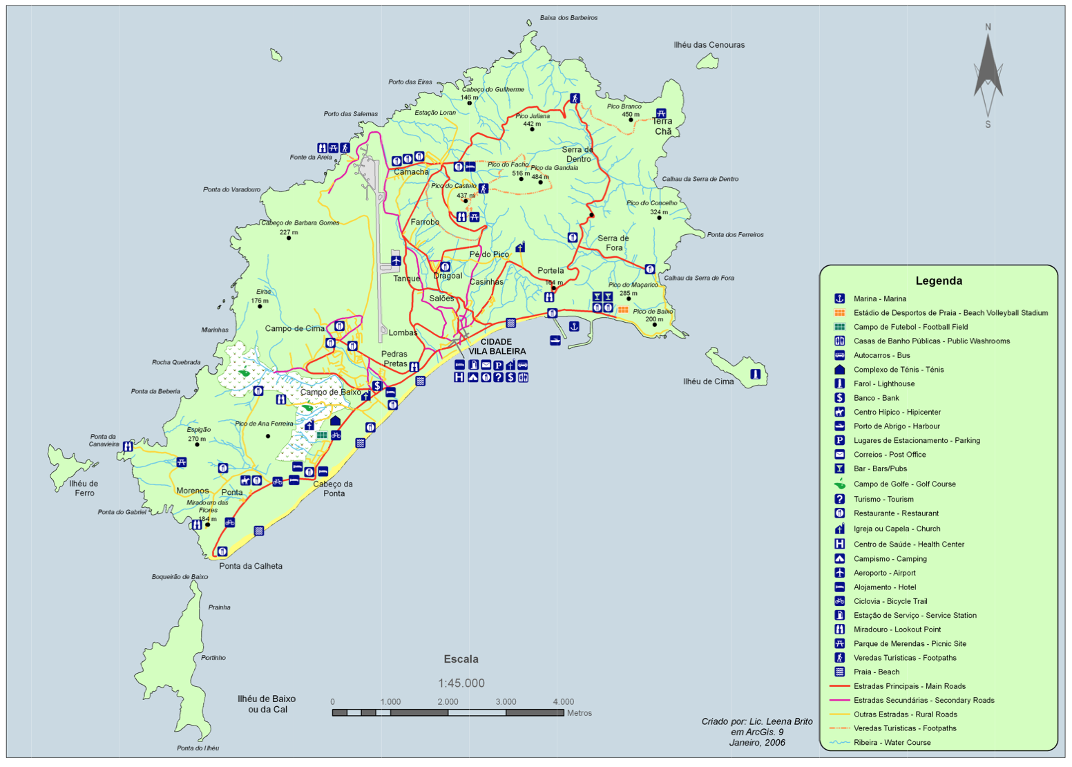 mapa da ilha do porto santo Mapa | Município mapa da ilha do porto santo